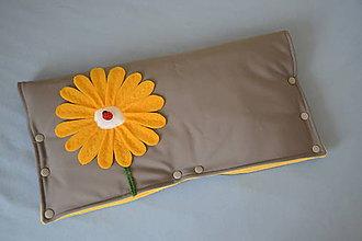 Textil - softshellový rukávnik na kočík - 10190515_