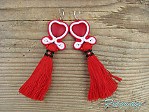 Tassels collection...soutache (Red Heart)