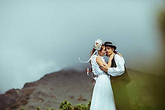 Šaty - Svadobné šaty ako z Jakubiskovej Perinbaby - 10189655_