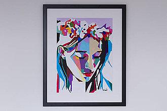Obrazy - Portret - poklona - 10188334_