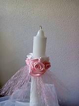 Iné doplnky - ozdoba na sviečku-prvé sväté prijímanie,krst - 10189356_
