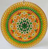 Dekorácie - Mandala Radosti - 10190418_