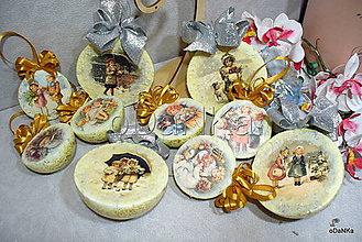Dekorácie - vianočné gule Detičky II. - 10190772_