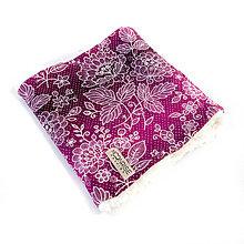 Detské doplnky - Zimný detský tunel - lace violet - 10190708_