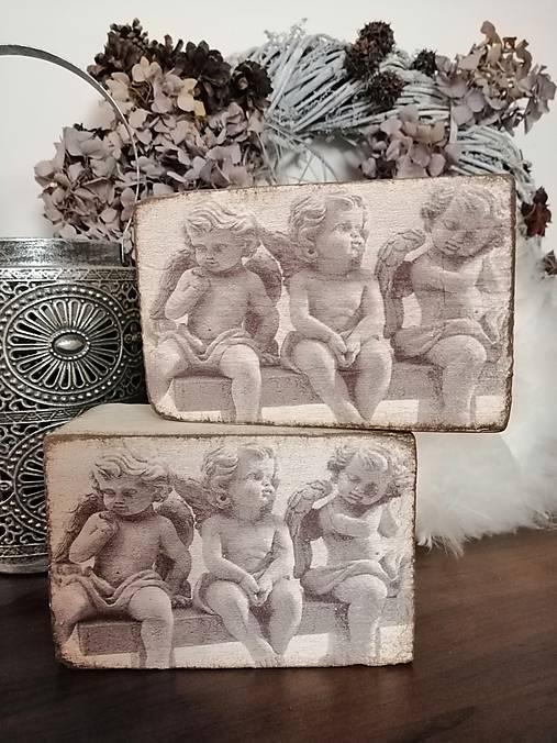 Anjelici na lavičke