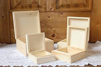 Polotovary - krabice 4v1 štvorec - 10189128_