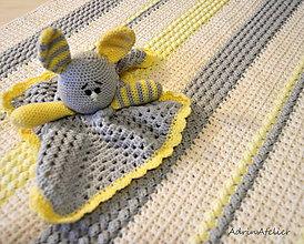 Hračky - spinkáčik zakjo-hrajko - 10189850_