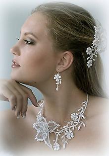Sady šperkov - Svatební souprava Rosa - 10188662_