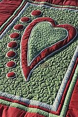 Úžitkový textil - So srdcom No.4 - 10190151_