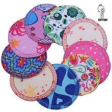 Úžitkový textil - AKCIA - 15 párov ( = 30ks ) Látkové odličovacie tampóny - BAVLNENÉ - 10194835_