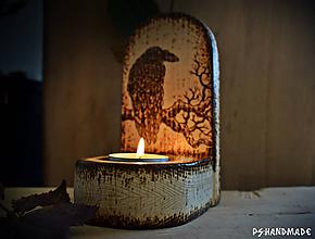 Svietidlá a sviečky - Smrekový svietnik