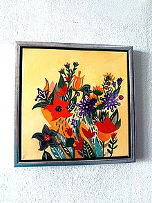 """Obrazy - """"... z malej rajskej záhrady"""" - 10194216_"""
