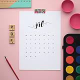 Papiernictvo - Kalendár na rok 2019 (tlačená verzia) - 10193198_