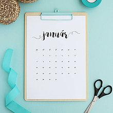 Papiernictvo - Kalendár na rok 2019 (tlačená verzia) - 10192658_
