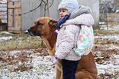 Detské tašky - Detský ruksak nanuky a zmrzlina - 10192864_