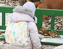 Detské tašky - Detský ruksak nanuky a zmrzlina - 10192866_