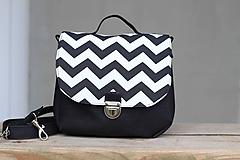 Korková kabelka čierna