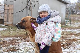 Detské tašky - Detský ruksak nanuky a zmrzlina - 10192857_