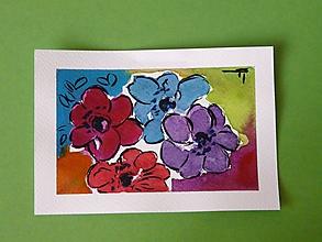 Papiernictvo - Andreas: Akvarelové pohľadnice - 10192188_