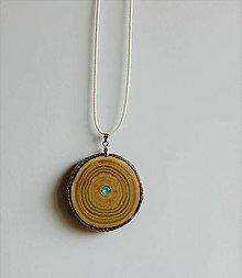 Náhrdelníky - Misia mladých: Drevený náhrdelník - 10192275_