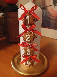 Svietidlá a sviečky - Adventná svieca menšia - 10194561_