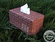 Krabičky - Obal na papierové vreckovky - 10193996_