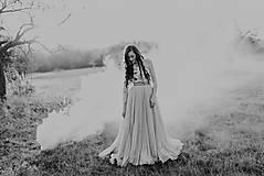 Šaty - Plisované šaty Poľana - 10193710_