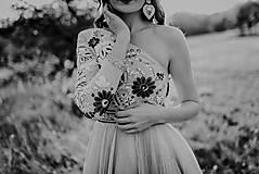 Šaty - Plisované šaty Poľana - 10193712_