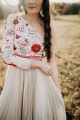 Šaty - Plisované šaty Poľana - 10193720_
