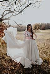 Šaty - Plisované šaty Poľana - 10193724_