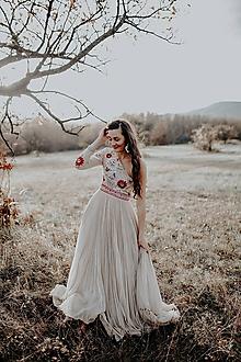 Šaty - Plisované šaty Poľana - 10193713_