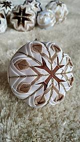 Dekorácie - Vianočná guľa 1 - 10192492_