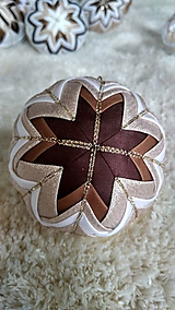 Dekorácie - Vianočná guľa 3 - 10192603_