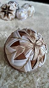 Dekorácie - Vianočná guľa 6 - 10192664_