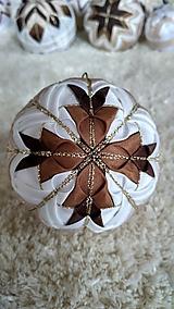 Dekorácie - Vianočná guľa 8 - 10192686_