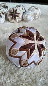 Dekorácie - Vianočná guľa 8 - 10192697_