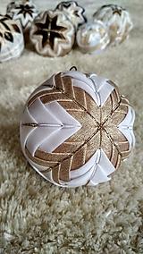 Dekorácie - Vianočná guľa 12 - 10192764_