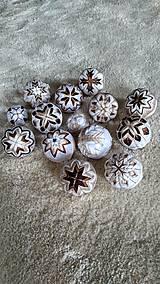 Dekorácie - Sada vianočných gúľ 12+2 - 10192824_