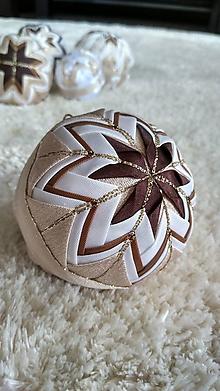 Dekorácie - Vianočná guľa 5 - 10192649_