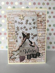 Papiernictvo - Vianočná pohľadnica - 10193893_