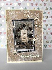 Papiernictvo - Vianočná pohľadnica - 10193910_