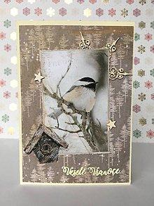 Papiernictvo - Vianočná pohľadnica - 10193946_