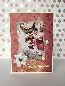 Papiernictvo - Vianočná pohľadnica - 10193959_