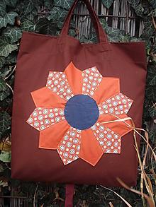 Nákupné tašky - nákupná taška Drážďanský tanier - 10193880_
