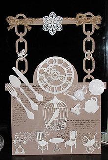 Dekorácie - DOMOV - vintage dekorácia - 10192164_
