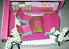 Hračky - Ružová kuchyňka so sedením - 10193741_