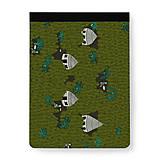 Papiernictvo - Skicár B5/B4 Amazonskí farmári - 10192521_