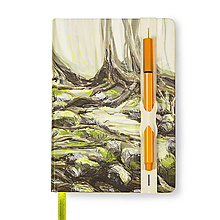Papiernictvo - Zápisník A6 Ponad korene - 10192625_