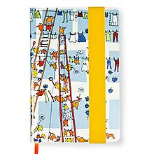 Papiernictvo - Zápisník A6 Sušenie Prádla - 10192810_