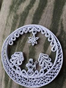 """Dekorácie - Vianočná dekorácia - """"Zimná nálada"""" - 10193533_"""
